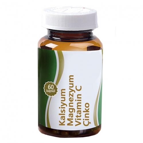 Misedor - Misedor Kalsiyum Magnezyum Çinko 60 Kapsül