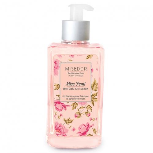 Misedor - Misedor Miss Femi Bitki Özlü Sıvı Sabun 400 ml