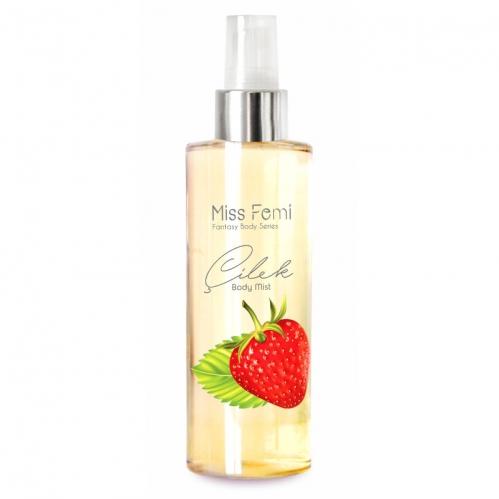 Misedor - Misedor Miss Femi Fantasy Body Mist Strawberry 150 ml