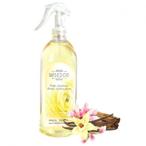 Misedor - Misedor Oda ve Çamaşır Parfümü Vanilya Manolya 500 ml