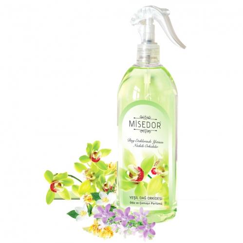 Misedor - Misedor Oda ve Çamaşır Parfümü Yeşil Dağ Orkidesi 500 ml