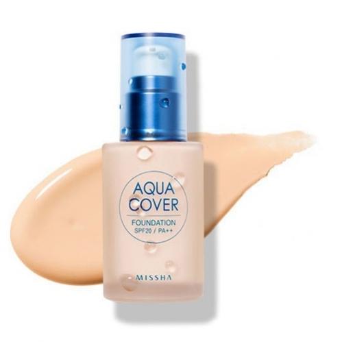 Missha - Missha Aqua Cover Foundation SPF20/PA (No.C21) 30ml