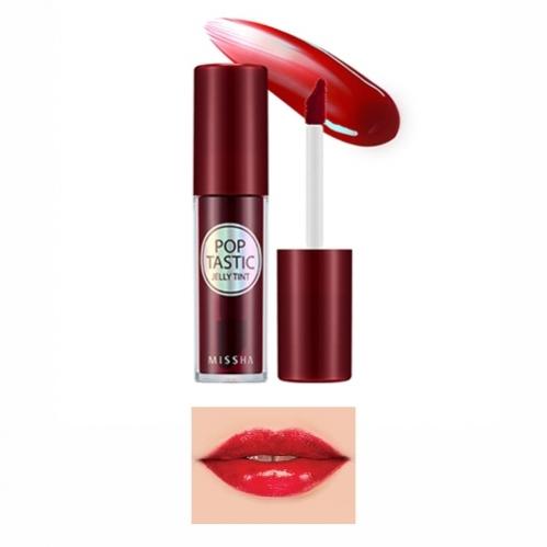 Missha - Missha Poptastic Jelly Tint (Club Red) 5g