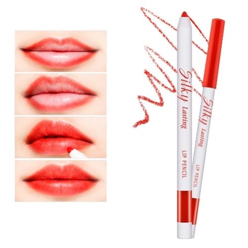 Missha - Missha Silky Lasting Lip Pencil (Gun Fire) 0.25g