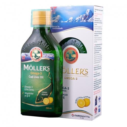 Farmavita İlaç - Möller's Omega 3 Takviye Edici Gıda 250 ml