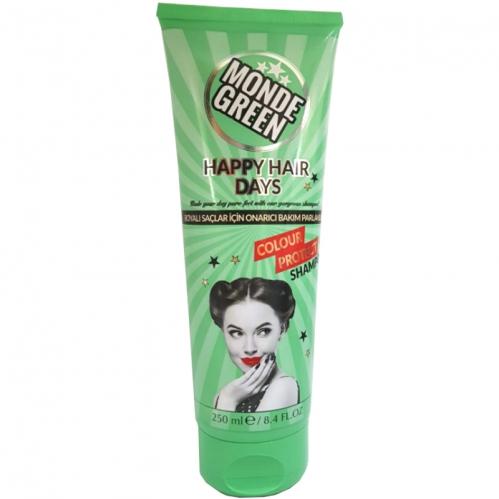 MondeGreen - Monde Green Boyalı Saçlar İçin Renk Koruyucu Şampuan 250 ml
