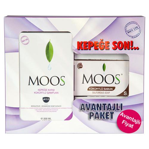 Moos Ürünleri - Moos Kepek Şampuanı Avantajlı Paket