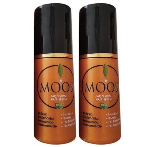 Moos Ürünleri - Moos Saç Dökülmesi Karşıtı Serum 2 x 90ml