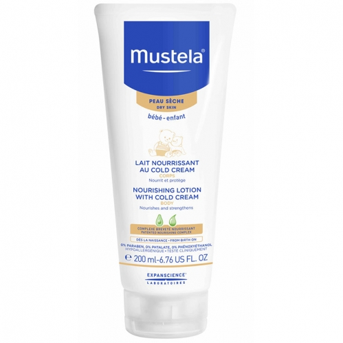 Mustela Ürünleri - Mustela Body Lotion With Cold Cream Nutri Protective 200 ML
