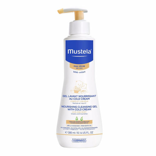 Mustela Cleansing Gel With Cold Cream Nutri-Protectiv 300ml
