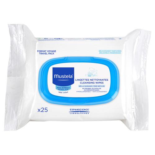 Mustela Ürünleri - Mustela Facial Cleansing Cloths 25 Adet