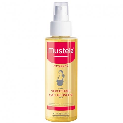 Mustela Ürünleri - Mustela Maternite Stretch Marks Prevention Oil 105ml - Çatlak Öncesi Yağı