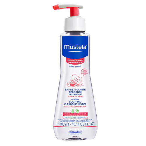 Mustela Ürünleri - Mustela Soothing Cleansing Water 300ml