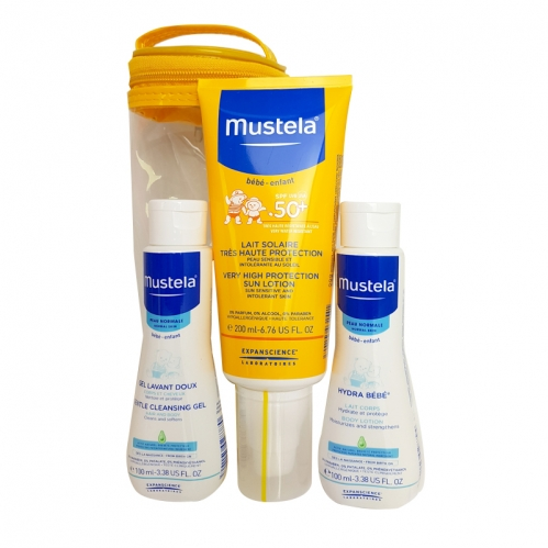 Mustela Ürünleri - Mustela Very High Protection Sun Lotion Spf50 200ml Güneş SETİ