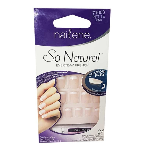 Nailene - Nailene So NaturaL Everyday French Petite Pink 71003