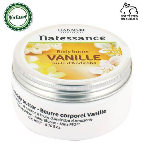Natessance - Natessance Doğal Vanilya Body Butter 200ML