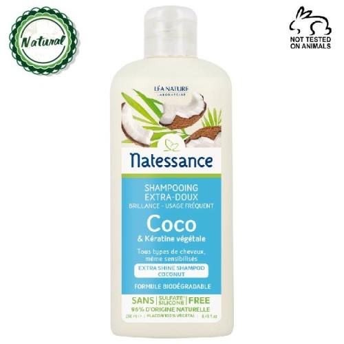 Natessance - Natessance Hindistan Cevizi Yağı Sık Kullanım Şampuanı 250 ml