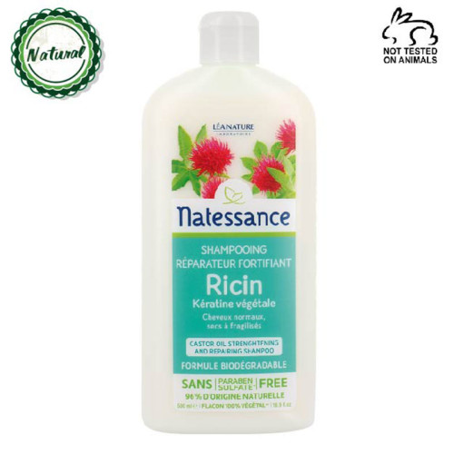 Natessance - Natessance Hint Yağı Güçlendirici Şampuan 500ML