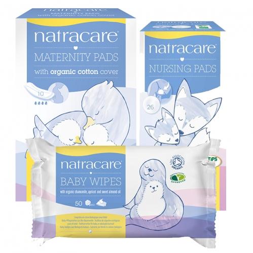 Natracare Ürünleri - Natracare Anne ve Bebeklere Özel Doğal ve Organik 3lü SET