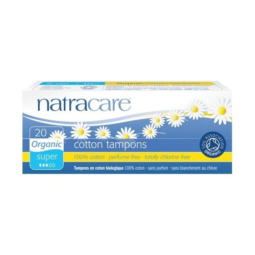 Natracare - Natracare Cotton Tampons - Super 20 Adet