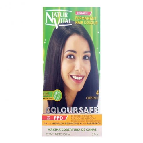 NATUR VITAL - Natur Vital Coloursafe Hair Colour 4 150ml
