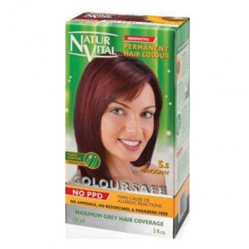 NATUR VITAL - Natur Vital Coloursafe Hair Colour 5.5 150ml