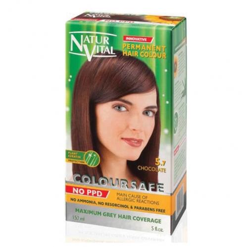 NATUR VITAL - Natur Vital Coloursafe Hair Colour 5.7 150ml