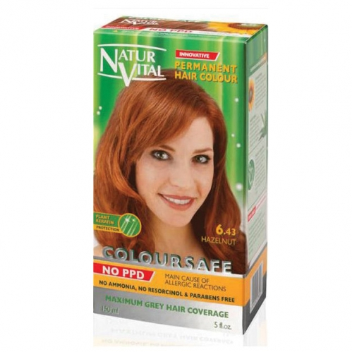 NATUR VITAL - Natur Vital Coloursafe Hair Colour 6.43 150ml