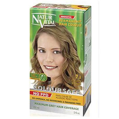 NATUR VITAL - Natur Vital Coloursafe Hair Colour 7.3 150ml