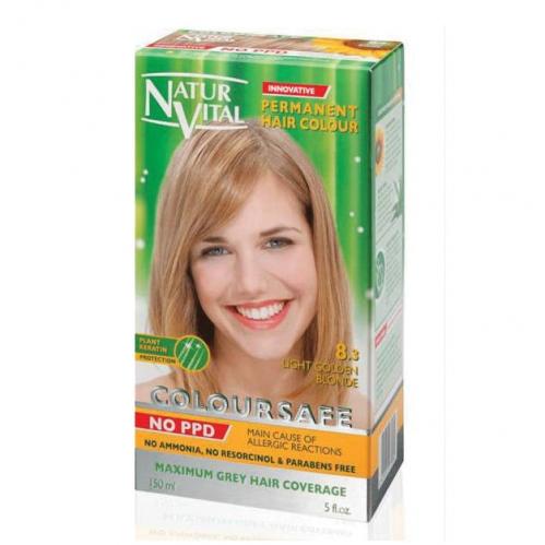 NATUR VITAL - Natur Vital Coloursafe Hair Colour 8.3 150ml