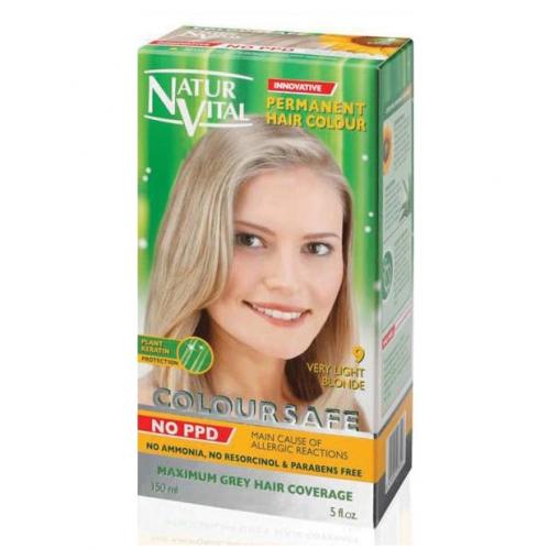 NATUR VITAL - Natur Vital Coloursafe Hair Colour 9 150ml