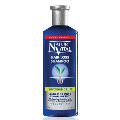 NATUR VITAL - Natur Vital Hair Loss Shampoo Anti Dandruff 300ml