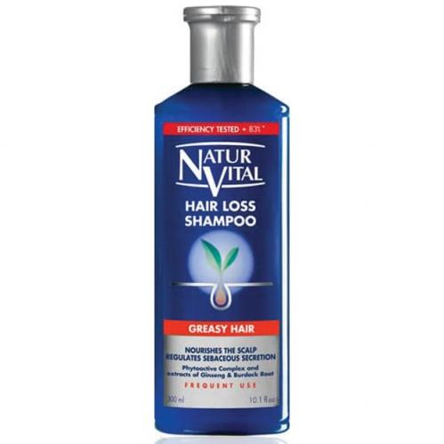 NATUR VITAL - Natur Vital Hair Loss Shampoo Greasy Hair 300ml