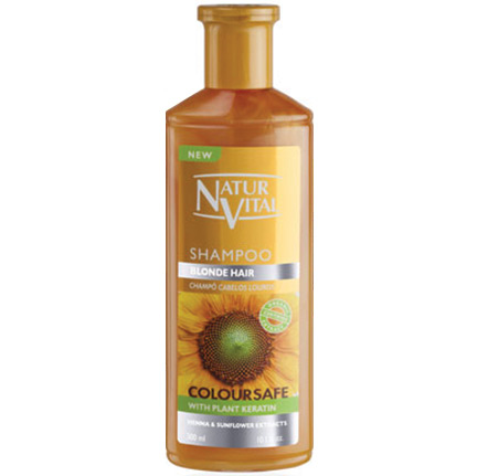 NATUR VITAL - Natur Vital Henna Coloursafe Blonde Hair Shampoo 300ml