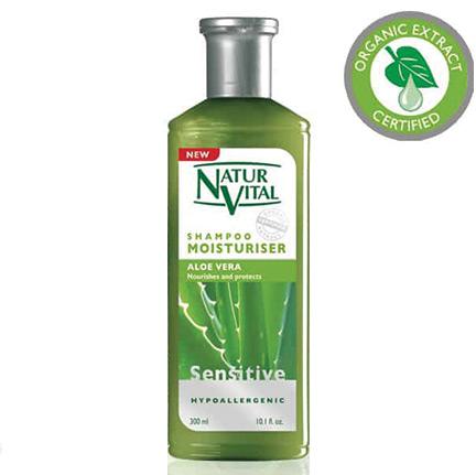 NATUR VITAL - Natur Vital Sensitive Aloe Vera Shampoo 300ml