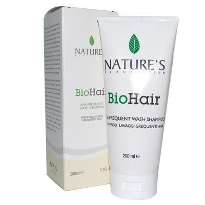 Natures - Natures BioHair Aha Frequent Wash Shampoo 200ml