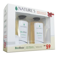Natures - Natures Hassas ve İnce Telli Saçlar İçin Şampuan Seti