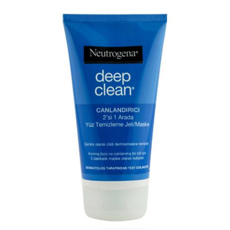 Neutrogena Ürünleri - Neutrogena Deep Clean 2 in 1 Wash/Mask 150 ml