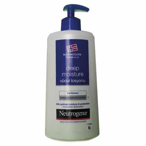 Neutrogena Ürünleri - Neutrogena Deep Moisture Vücut Losyonu 400ml