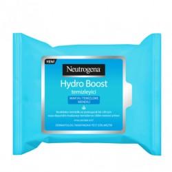 Neutrogena Ürünleri - Neutrogena Hydro Boost Makyaj Temizleme Mendili 25adet