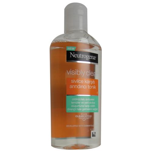 Neutrogena Ürünleri - Neutrogena Visibly Clear sivilce eğilimli Temizleyici Tonik 200ml