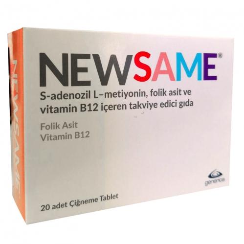 Generica - Newsame Vitamin B12 Takviye Edici Gıda 20 Tablet