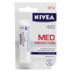 Nivea Ürünleri - Nivea Med Protection Dudak Koruyucu 4.8gr