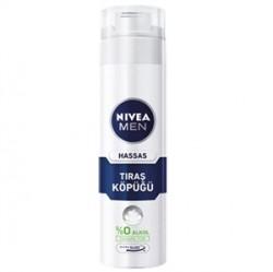 Nivea Ürünleri - Nivea Men Hassas Tıraş Köpüğü 200ml
