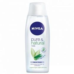 Nivea Ürünleri - Nivea Pure Natural Tüm Cilt Tipleri İçin Tonik 200ml