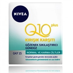 Nivea Ürünleri - Nivea Q10 Kırışıklık Karşıtı Gözenek Sıkılaştırıcı Gündüz Kremi 50mL