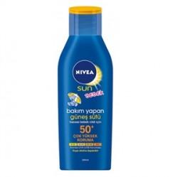 Nivea Ürünleri - Nivea Sun Baby Bakım Yapan Güneş Sütü Spf50 200ml