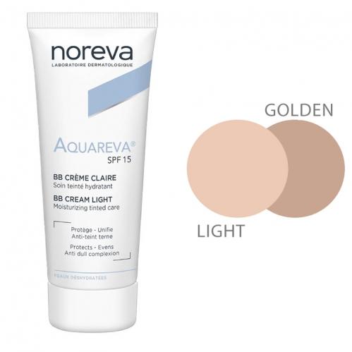 Noreva - Noreva Aquareva SPF 15 BB Krem 40 ml Light