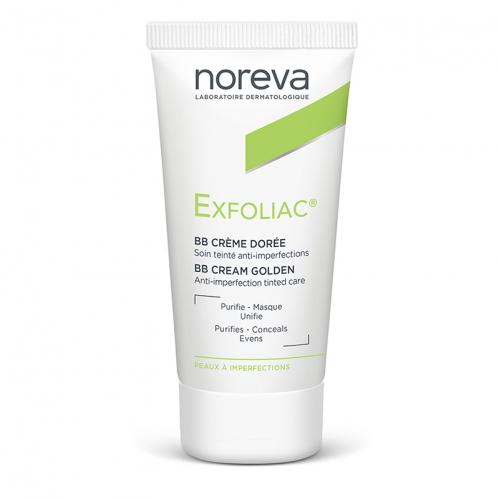 Noreva - Noreva Golden Tinted BB Cream 30ml - Orta Ton