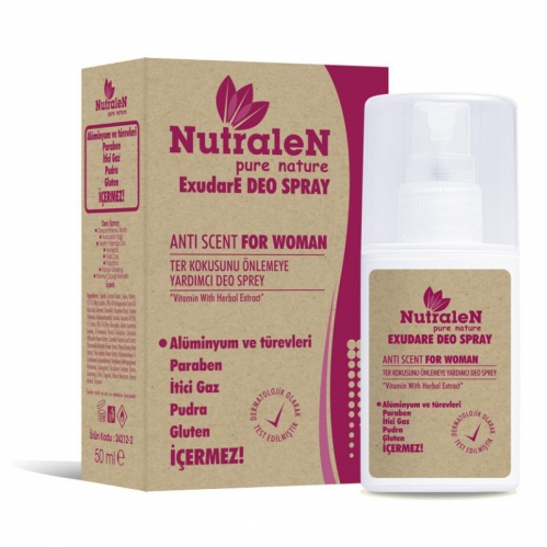 Nutralen - Nutralen ExudaE Deo Spray Anti Scent For Women 50 ml